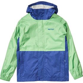 Marmot PreCip Eco Veste Garçon, emerald/royal night